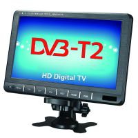 9寸车载移动电视 DVB-T2 欧洲热销中