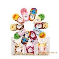 纯棉正品童袜 宝宝吸汗袜子 婴幼儿蕾丝边地板袜 儿童卡通船袜