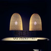 供应【藤艺吊灯】藤艺田园灯现代餐厅吊灯光创意卧室书房灯装饰灯具