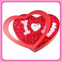 批发 玫瑰100朵情人节创意女朋友婚庆礼品工艺香皂花实用浪漫礼盒