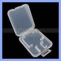 加厚型 TF双卡小白盒  micro SD内存卡保护盒 卡盒