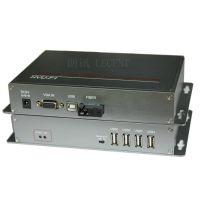 朗讯VGA视音频光端机带USB键鼠 光纤传输器