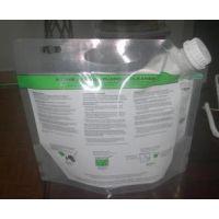 供应2L玻璃水私家车清洁玻璃水袋 油膜净四边封铝箔袋 可定制