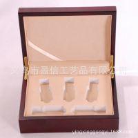厂家定做制生产亮光油漆盒 保健品木盒 野山参包装盒 15ml精油盒