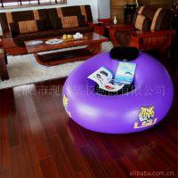 【远销欧美 厂家】120cm沙发床 充气植绒沙发 充气沙发充气床