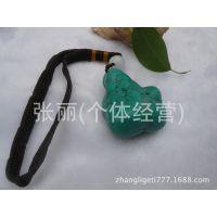 绿松石原石把件手玩件 随形手把件  批发