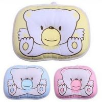 批发小熊枕头 糖果型婴儿定型枕头 宝宝纠正睡姿枕头 儿童小枕头