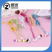 厂家批发国产手机耳机 彩色手机线控耳机 小米华为手机耳机