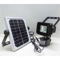 盛世景观红外感应灯具 太阳能投光灯 20w 厂家直销