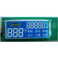温湿度仪、电子秤、万用表、智能电表、银行点钞机、电子保险箱、收银机、股票机、跑步器LCD液晶显示屏
