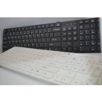 联想 KB-968 黑色 简约时尚超薄键盘 笔记本键盘 轻巧磨砂 便携