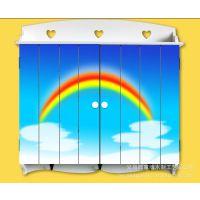 手绘田园风格木制电表箱 遮挡箱 电表盒 配电箱 装饰箱3011-405