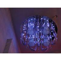 供应供应现代简约LED吸顶灯LED水晶灯卧室餐厅灯饰客厅灯具