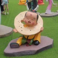 供应上海玻璃钢泡沫模型雕塑 卡通人物版动漫道具定做