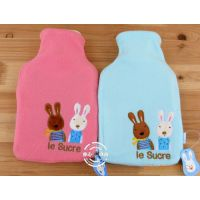 正版Le Sucre砂糖兔/太子兔热水袋/暖手宝/热水捂/内胆加毛绒套