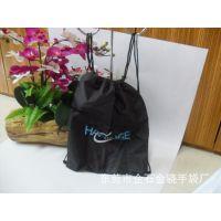 东莞工厂订做尼龙束口拉绳后背包 学生户外束口拉绳袋背包