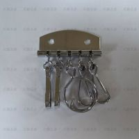 厂家直销带圈朱旦扣钥匙排/手包挂件钥匙排