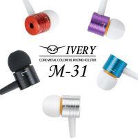聆动M-31入耳式金属小米2s3s4活塞耳机秒杀中兴华为手机耳麦批发