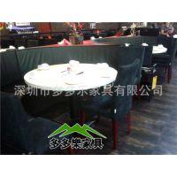 餐饮餐桌 嵌入式电磁炉火锅桌子 隐形自助火锅餐桌供应