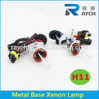 Car hid light,car xenon light h11 with metal base