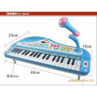37键宝宝儿童电子琴/音符录音教具/带麦克风