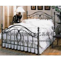 滢发 欧式铁艺双人床 铁艺公主床 卧床 铁艺家具 Iron Bed 可定做