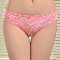 外贸纯棉库存女士内裤速卖通爆款透气性感印花女式三角裤stock underwear