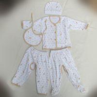 供应婴幼儿保暖套装 宝宝纯棉加厚套装 婴幼儿内衣 纯棉开胸套装