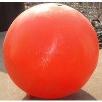 供应厦门塑料浮球 海上专用警示浮桶 直径120cm大型塑料浮球