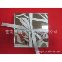 长期生产供应 家居用品 透明玻璃杯垫
