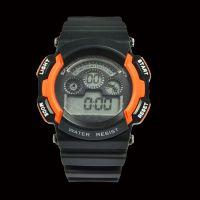 厂家直销塑胶外壳电子机芯带蓝光电子手表