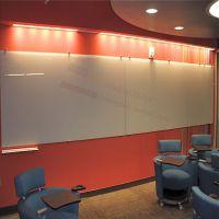办公室 会议室 培训学校专用豪华装饰玻璃白板 写字板 带磁性