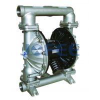侠飞3寸不锈钢气动隔膜泵 MORAK80不锈钢316泵