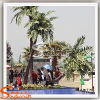 厂家批发保鲜椰子树 假椰子树仿真植物 树脂工艺品摆件