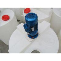 成套pe加药处理设备 PAM搅拌桶 带液位的塑料加药箱