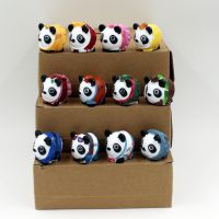树脂工艺品 生日礼物 四季国宝熊猫 家居婚庆创意桌面12件套摆件