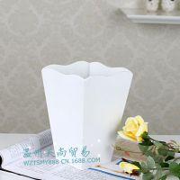 批发 现代个性时尚花器 木制简约花插 高密度板花瓶容器 木制花器