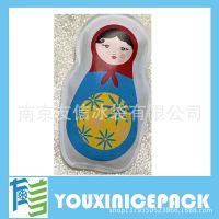 厂家供应PVC暖手袋 金属片热水袋 自发热袋 日本热袋
