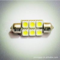 双尖T10灯板 1210-15SMD室内车厢灯 阅读灯 led汽车灯 车牌照灯