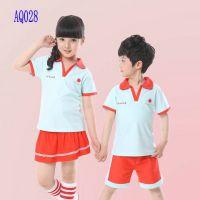 老师服装 AQ028中学生运动校服现货 订做棉园服校服学生服