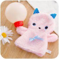 可爱猫咪迷你暖手宝 便携充水式小热水袋 可拆洗毛绒暖手袋B760