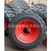 山东厂家直销威肯滑移装载机配件无内胎耐磨轮胎真空胎品质保证