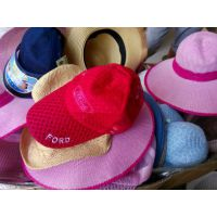 遮阳帽 太阳帽子批发 时尚男女士儿童旅行帽旅游区热卖凉草帽摆摊