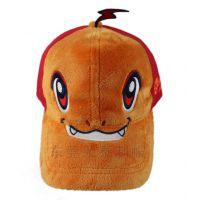 可来图来样订做冬季新款时尚儿童棒球帽 保暖绒毛帽子