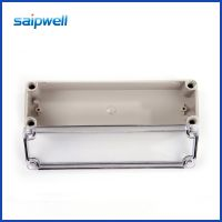 saip品质DS-AT-0825透明塑料防水盒 PC塑料防水接线盒三通接线盒