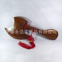 【厂家直销】桃木工艺斧60厘米 工艺精致 整体材料 摆件挂件