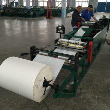 供应全自动葡萄套袋纸袋加工设备,多功能葡萄袋机,自动镶丝一次成型葡萄袋机