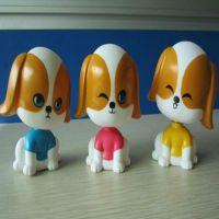 厂家专业塑胶搪胶,公仔,玩具喷涂喷油加工,小狗玩偶,价格优惠
