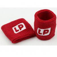 正品LP662羽毛球网球保健身运动护手腕吸汗带毛巾护腕护具2只