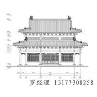 供应寺庙图纸|寺院施工图设计